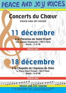 Concert 18 décembre