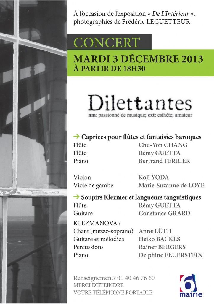 Concert 3 décembre