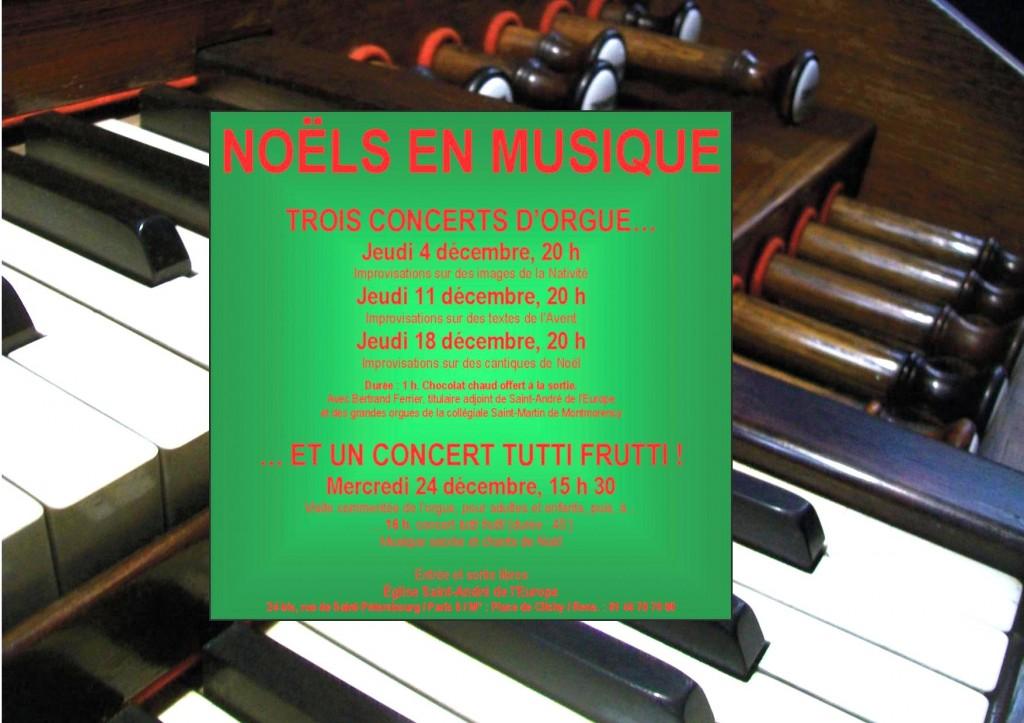 Concerts Noël 2014