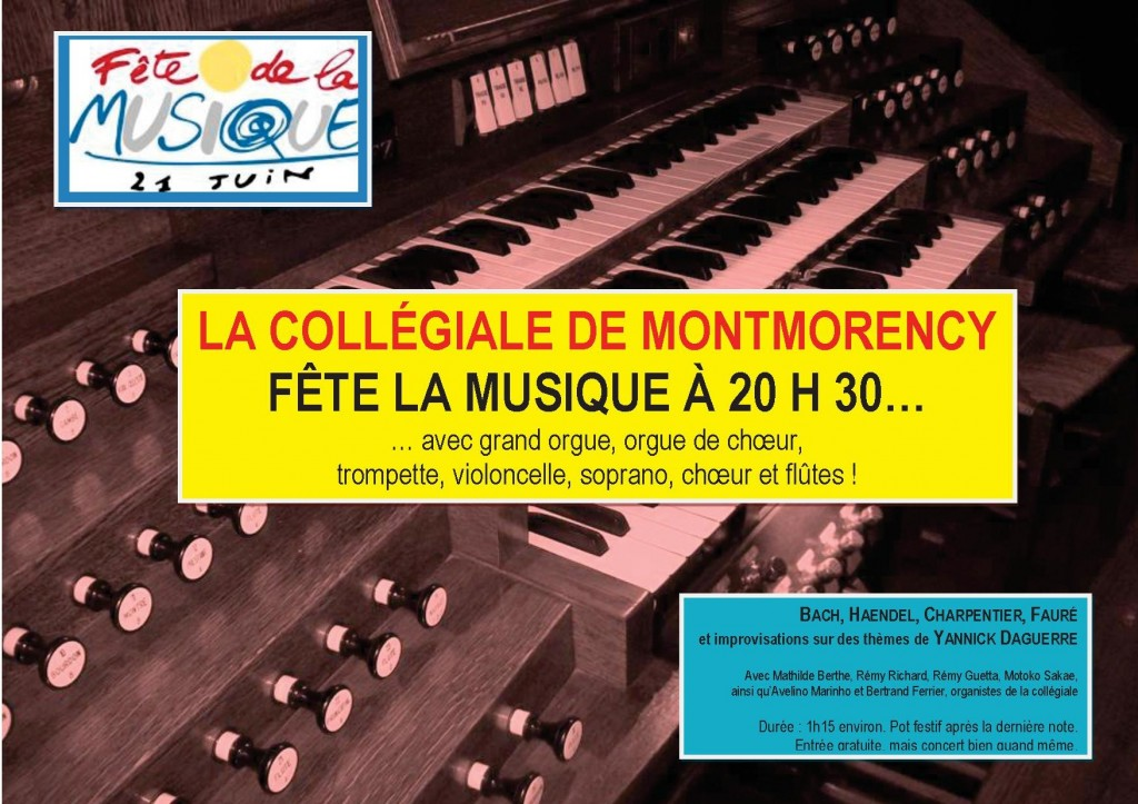 Affiche Montmorency