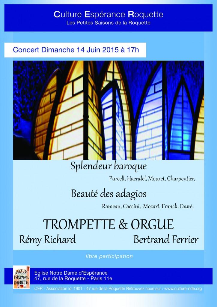 Concert 14 juin 2015