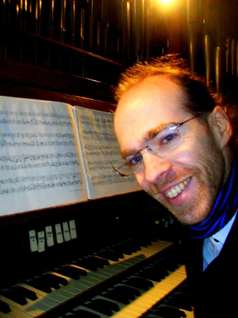 Bertrand Ferrier aux grandes orgues de Montmorency