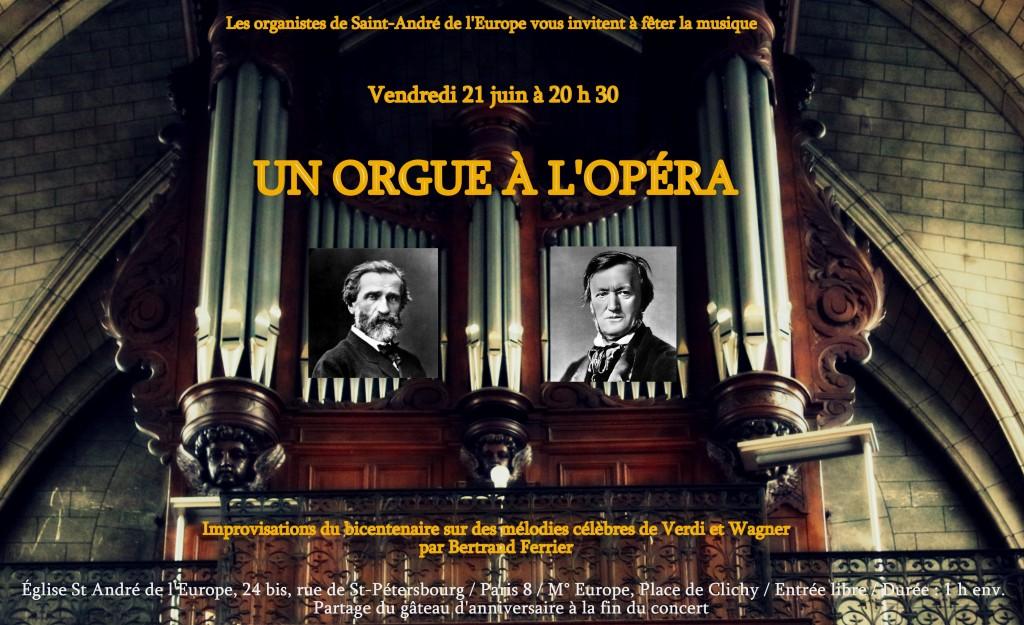 Un orgue à l'opéra
