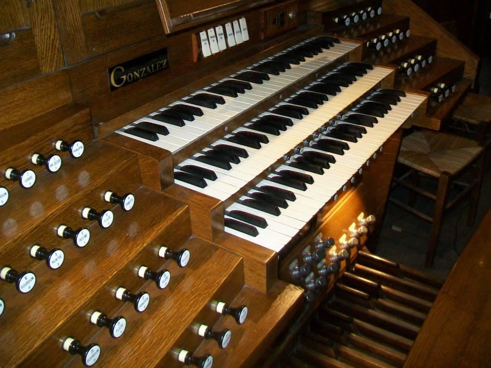 L'orgue de la collégiale de Montmorency