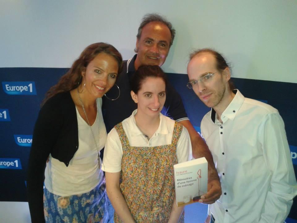 Les experts : Olivia, Isaure, Roland Perez et Bertrand Ferrier (photo Europe 1)