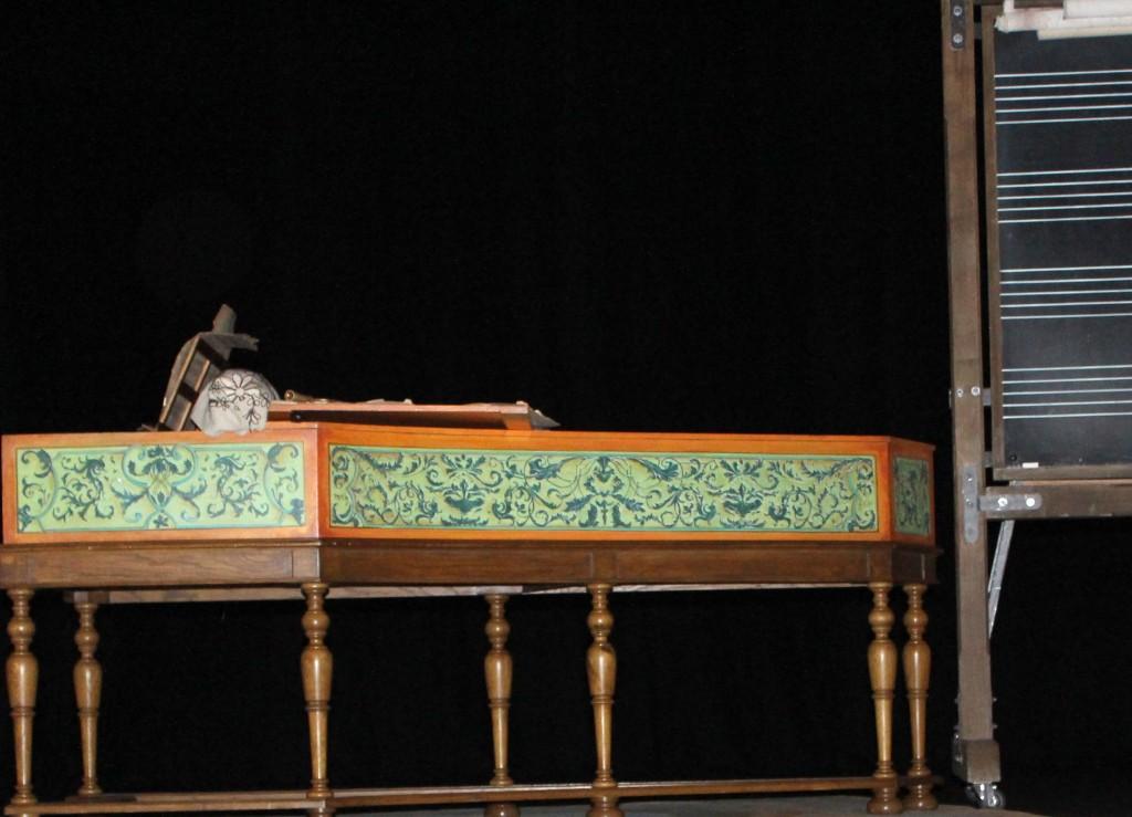 Le clavecin de Bach. (Photo : Josée Novicz)