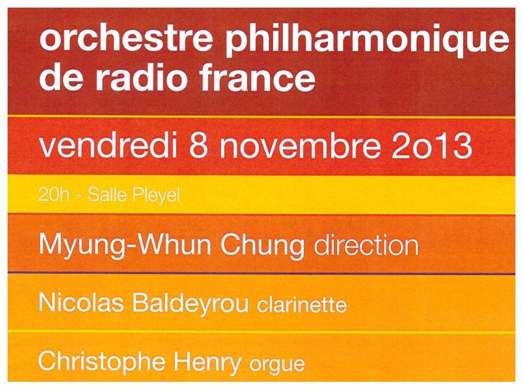 Pleyel, 8 novembre 2013
