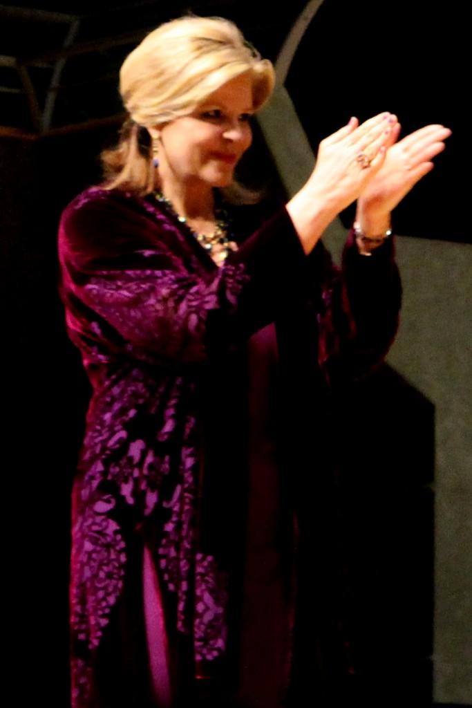Susan Graham, tenue 2. Photo : Josée Novicz.