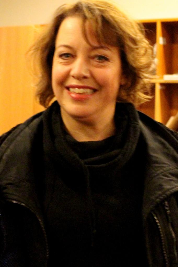Nina Stemme après la représentation