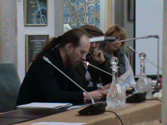 Lecture de la communication d'Anne-Marie Garat. Carthage, 5 mars 2014.