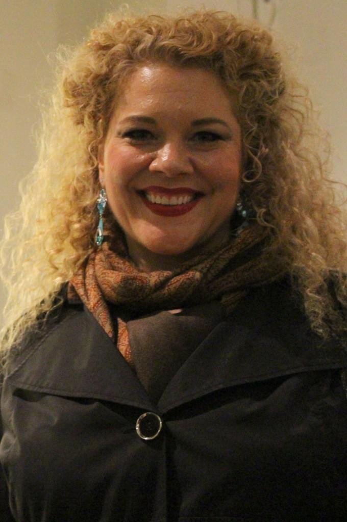 Michelle De Young. Pleyel, 14 mars 2014.