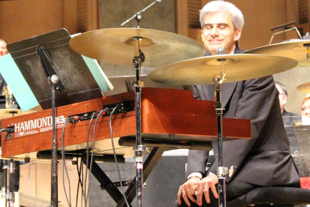 Dimitri Vassiliakis, claviériste boudeur de l'EIC. Photo : Josée Novicz.