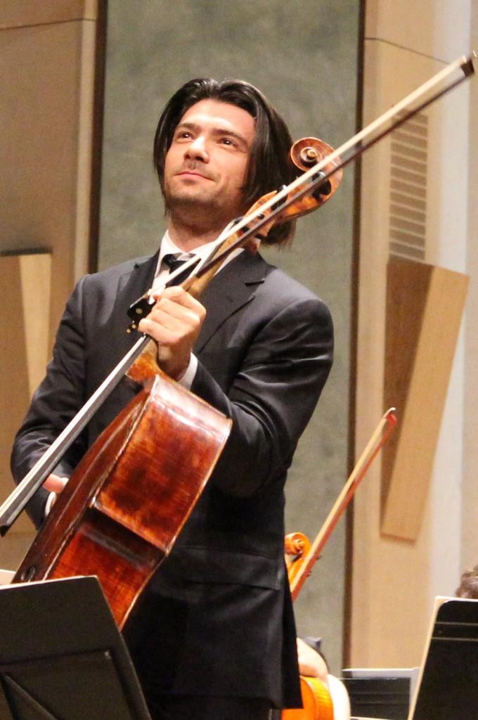 Gautier Capuçon. (Photo : Josée Novicz)