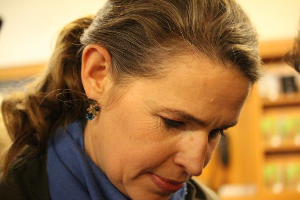 La reine Genièvre, qui aurait donc survécu à sa chevelure... (Photo : Bertrand Ferrier)
