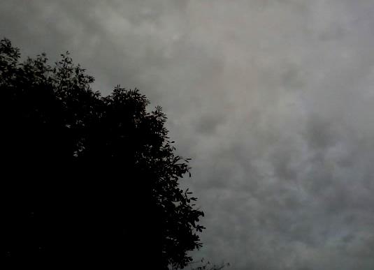 Ciel de septembre aux Batignolles