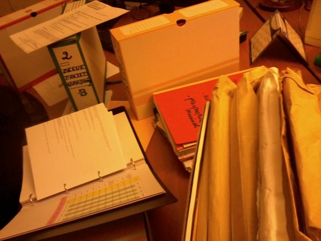 Restau orgue papiers