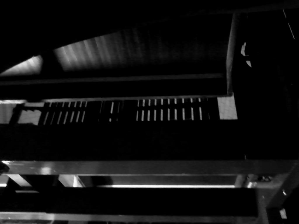 Intérieur de l'orgue