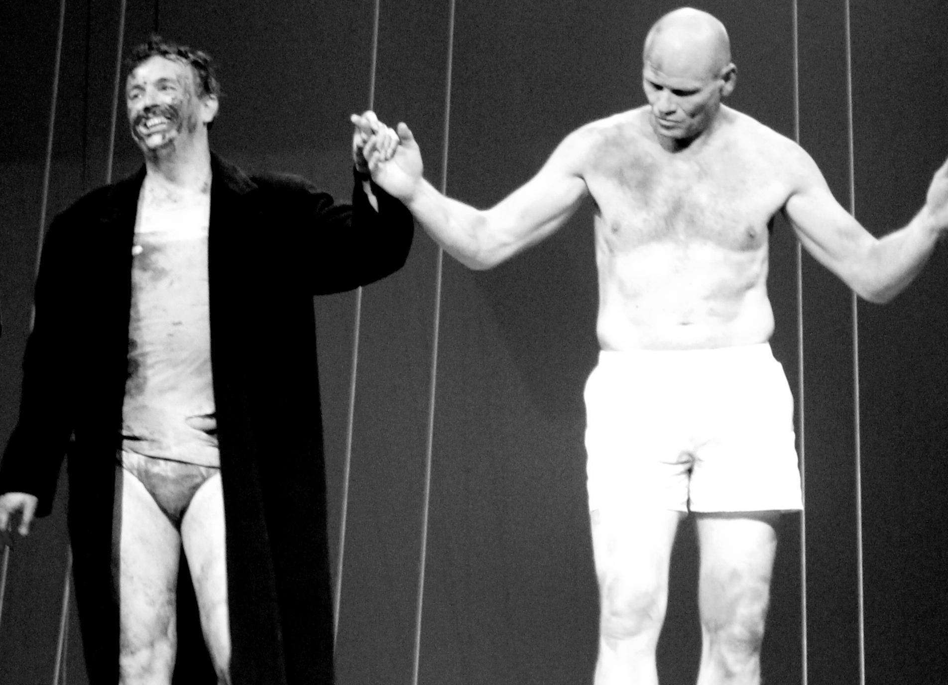 La fête du slip, avec Andrew Watts (Edgar) et Bo Skovhus (Lear)