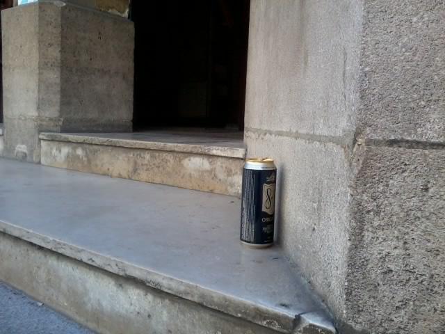 Une bière à l'église