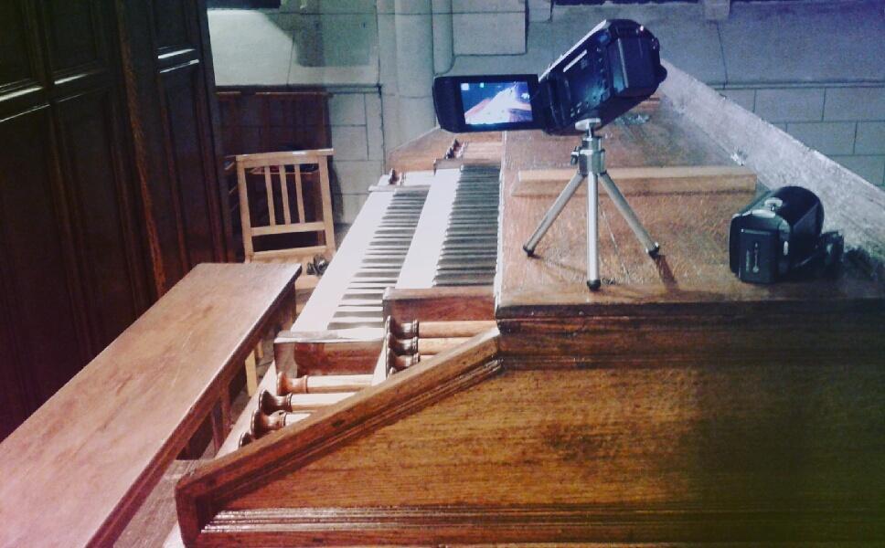 Captation de l'orgue par Vincent Hildebrandt, le 29 octobre 2016