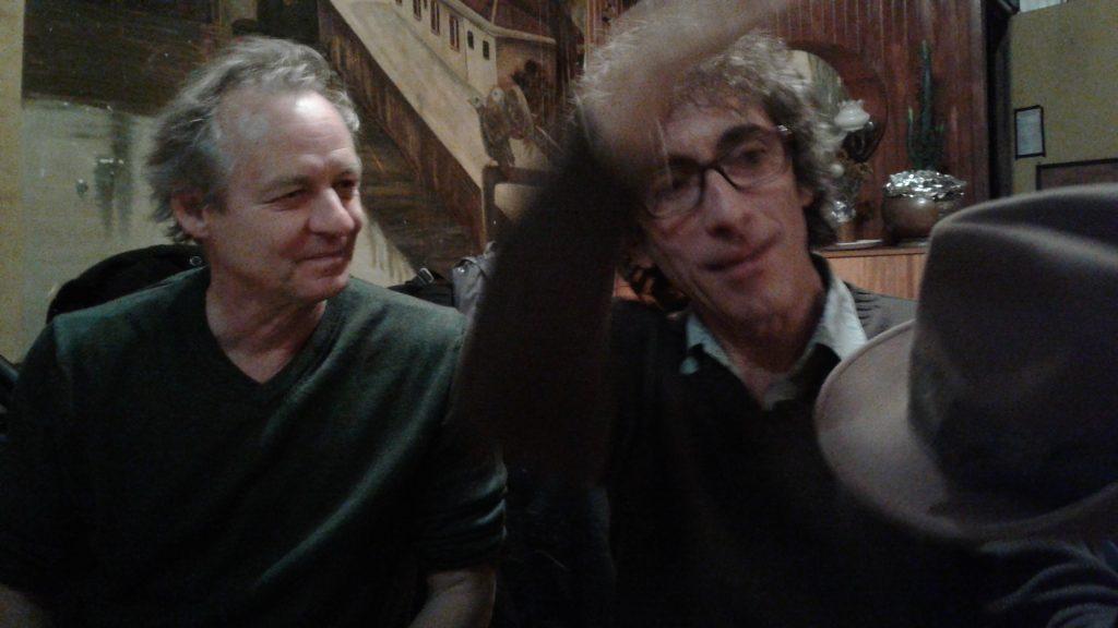 Claudio Zaretti et Jean Dubois