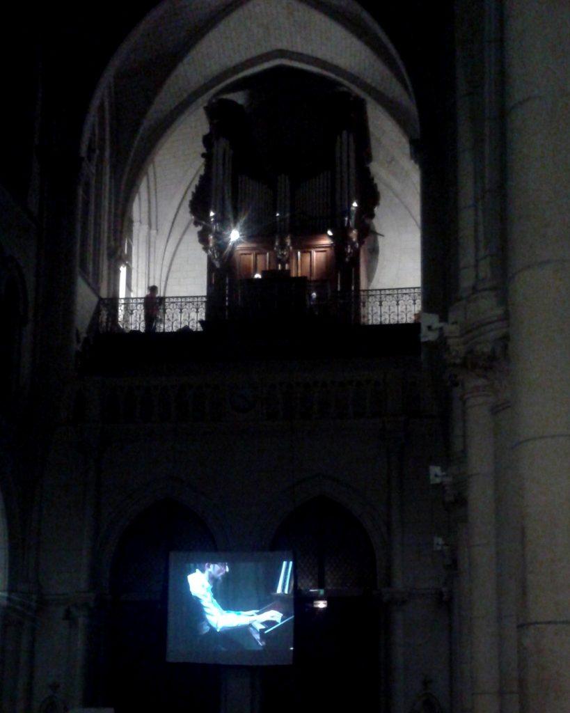Dans la nuit, Vincent Genvrin bosse. (Photo : Alain-Christian Leraitre)