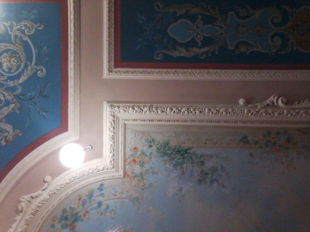 Plafond hôtel Arc-en-ciel Les Sables d'Olonne