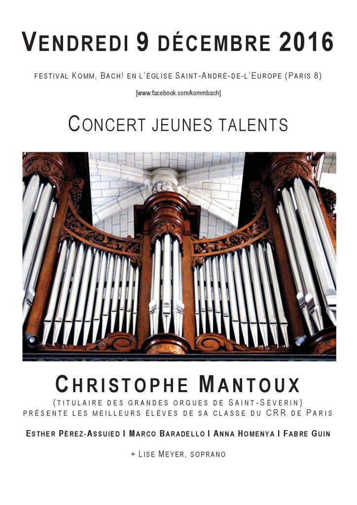 Christophe Mantoux présente
