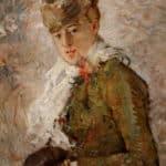 """""""Hiver"""", Berthe Morisot"""